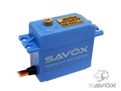 新作からSALEアイテム等お得な商品満載 安い SAVOX 社製 世界トップクラスの性能 品質 耐久性 ウォータープルーフ サボックス日本総代理店 SW-0231MG デジタルサーボ