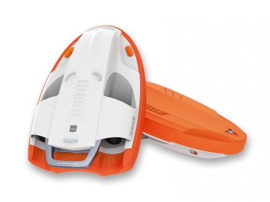 SUBLUE Swii スウィー 電動ビート板 サンライズオレンジ