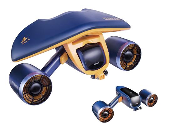 送料無料 SUBLUE WHITESHARK MIX 水中スクーター(スペースブルー 特別色) ダイビング シュノーケリング マリンスポーツ 世界最小