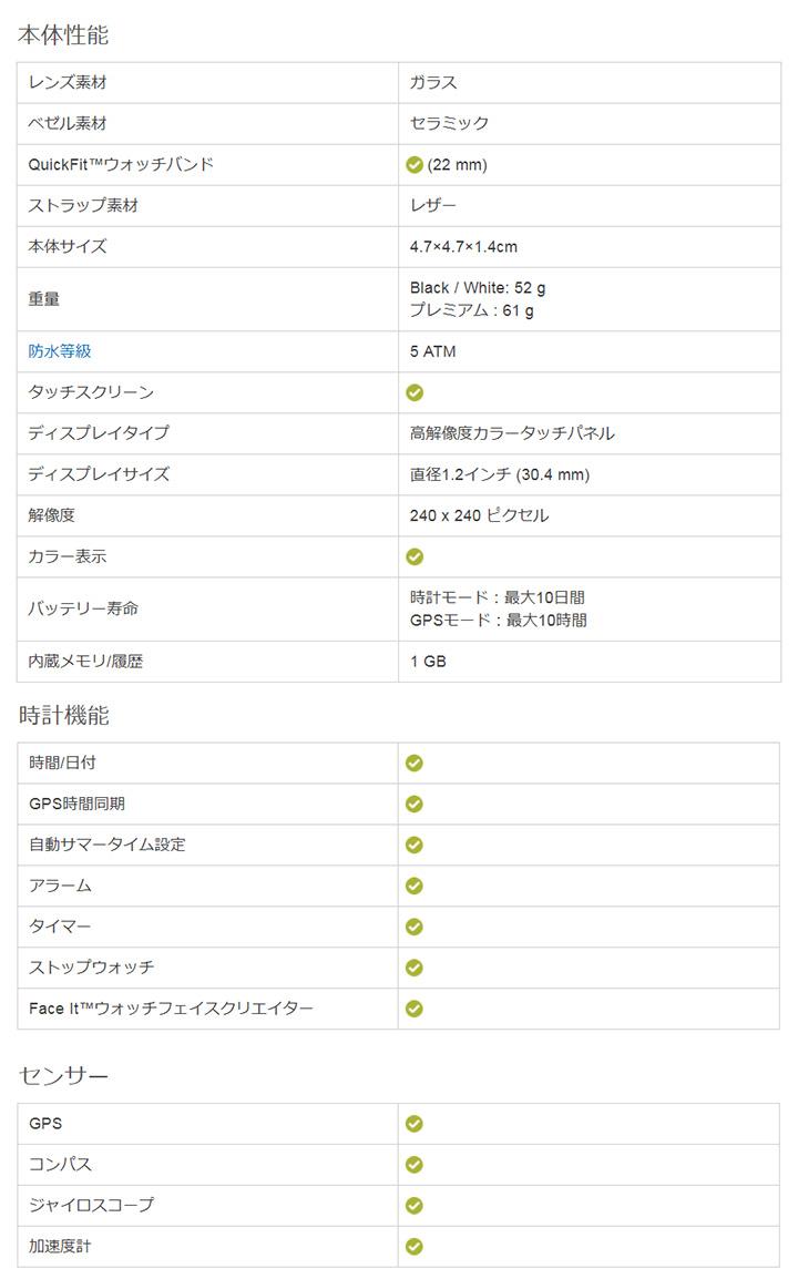 【GARMIN】ガーミンGPSゴルフナビ アプローチ S60 セラミック