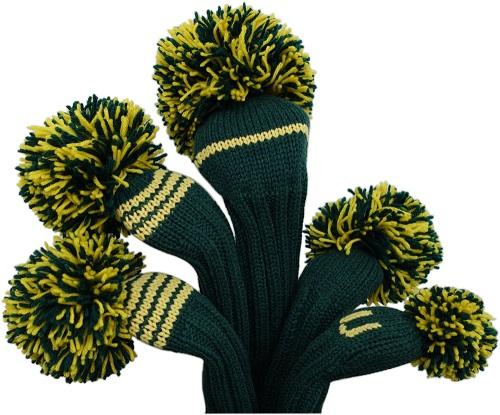 USPGAツアーでお馴染みのジャンクレイグヘッドカバー 大きなポンポンとカラフルな毛糸がトレードマーク ジャンクレイグヘッドカバー JAN CRAIG ケリー 5W イエロー マスターズ 購買 3W 店 UT FW