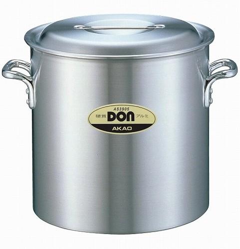 アカオ DON 硬質アルミ寸胴鍋 36cm 【プロ仕様、業務用鍋 DONシリーズ】 アカオアルミ