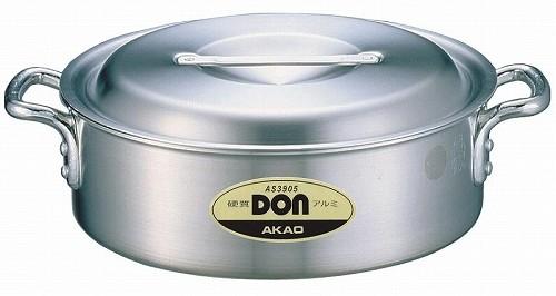 アカオ DON 硬質アルミ外輪鍋 60cm 【プロ仕様、業務用鍋 DONシリーズ】 アカオアルミ