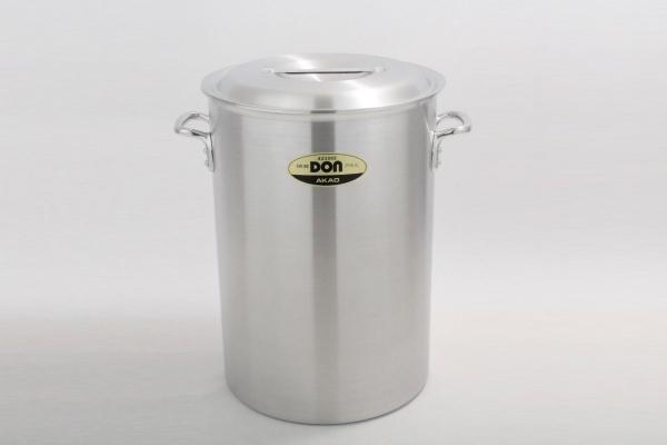 アカオ DON 硬質 アルミ 深型 寸胴鍋 39cm 【プロ仕様、業務用鍋 DONシリーズ】 アカオアルミ