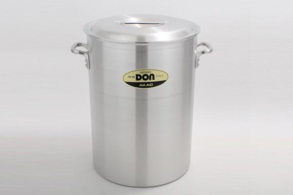 アカオ DON 硬質 アルミ 深型 寸胴鍋 42cm 【プロ仕様、業務用鍋 DONシリーズ】 アカオアルミ