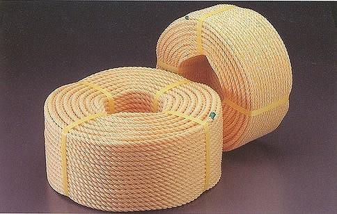 ポリ ロープ PV ロープ 10mm×200m 【紐 縄】