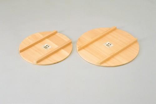 国産高級さわら 木製 飯台蓋 51cm  【すし桶 サワラ 銅タガ】寿司おけ 寿司桶 飯切り