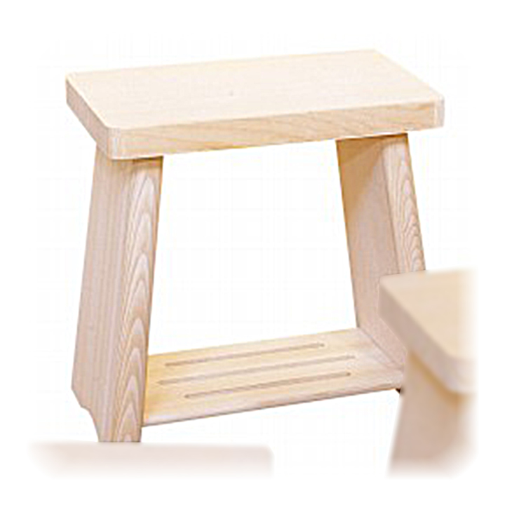 木工職人が丁寧に作りました 安心 高品質の国産品 日本製 木製 最新アイテム 風呂椅子 ふろいす 大 フロイスアラスカ桧 親子風呂イス 引き出物