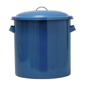 野田琺瑯 ホーロータンク 36cm 手付 35L 【ホーロー ぬか漬け容器 漬物容器 味噌桶】