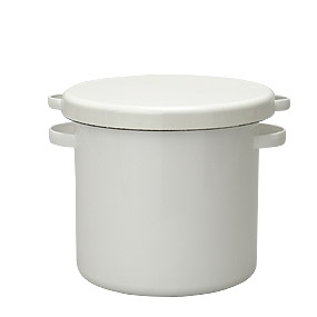野田琺瑯 心をつくし 手をつくし 造りつづけています 即納 ラウンドストッカー 漬物容器 ぬか漬け容器 ホーロー 味噌桶 代引き不可 21cm WRS-21 驚きの値段で