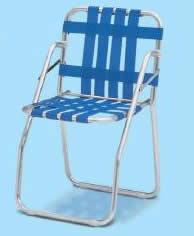 テラモト ガーデンチェア 青 (折りたたみ式) MZ-600-200-0 【業務用 イス いす 椅子 ベンチ】