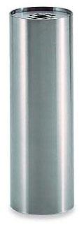 テラモト ステン角型灰皿 GPX-28A 2.1L SS-955-010-0 【業務用 ステンレス スモーキングスタンド アッシュトレイ】