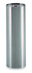 テラモト 灰皿 SK-020 2.6L 角型 SU-290-520-0 【業務用 ステンレス スモーキングスタンド アッシュトレイ】