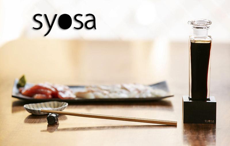 syosa 醤油さし 会津漆器 工芸品【大スタンド 黒漆 仕上げ】醤油差し ガラス 液だれしない