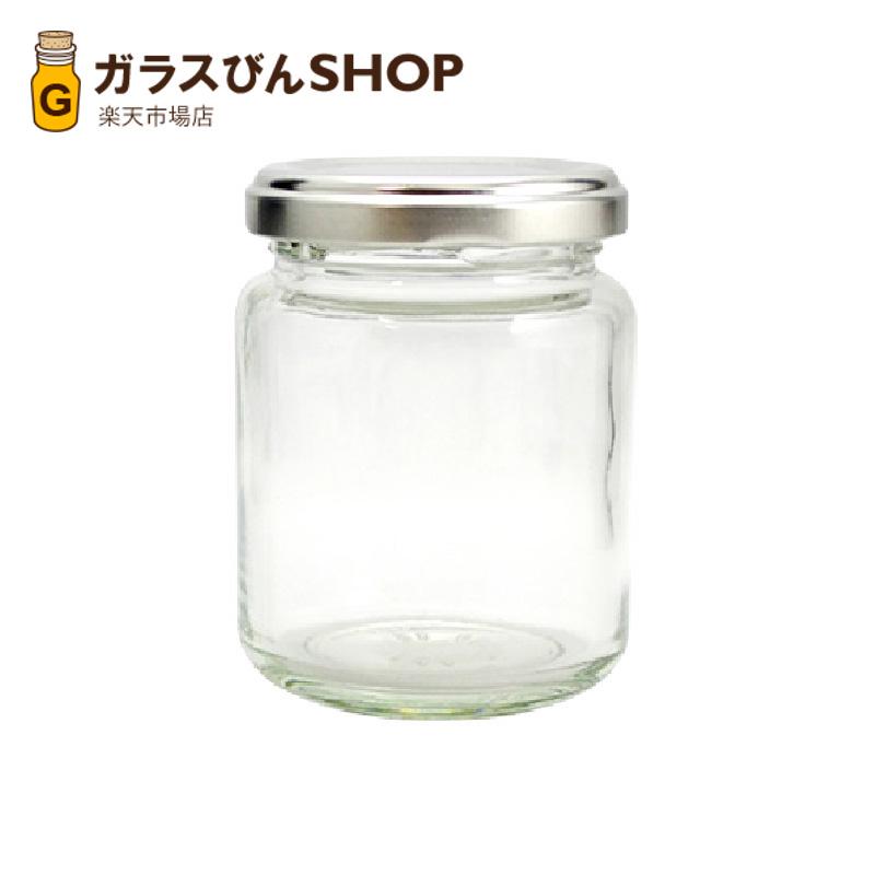 ガラス瓶 蓋付 ジャム瓶 ガラス保存容器 J140ST-84本セット- 140ml jam jar