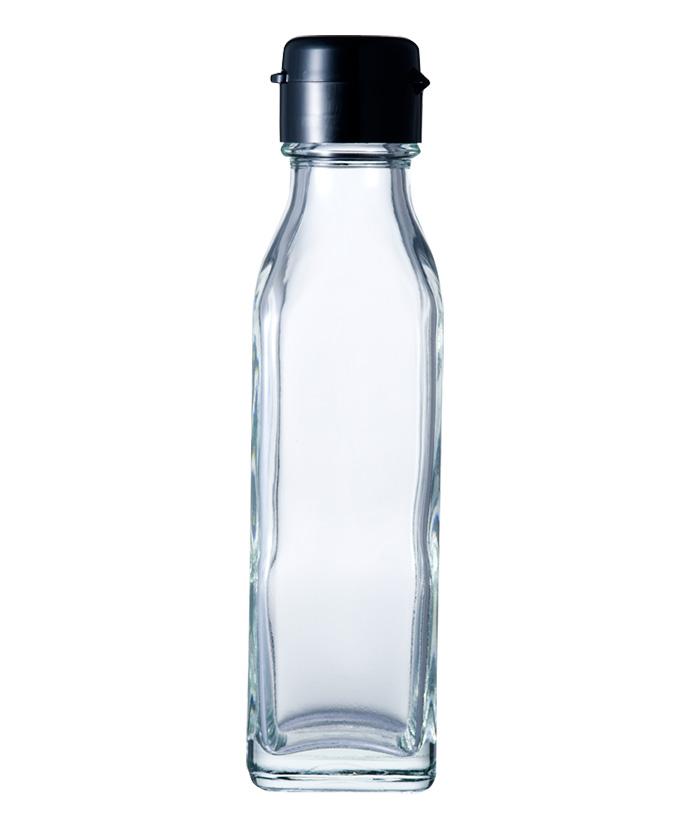 ガラス瓶 ドレッシング・タレ瓶 調味120角-HC-F 120ml-48本セット- sauce bottle