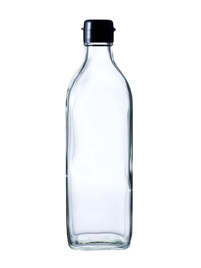ガラス瓶 ドレッシング・タレ瓶 No.500 525ml-35本セット- sauce bottle