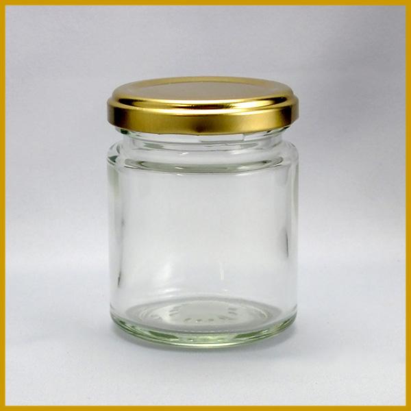 ガラス瓶 蓋付 ジャム瓶 ガラス保存容器 J120ST -84本セット-120ml jam jar