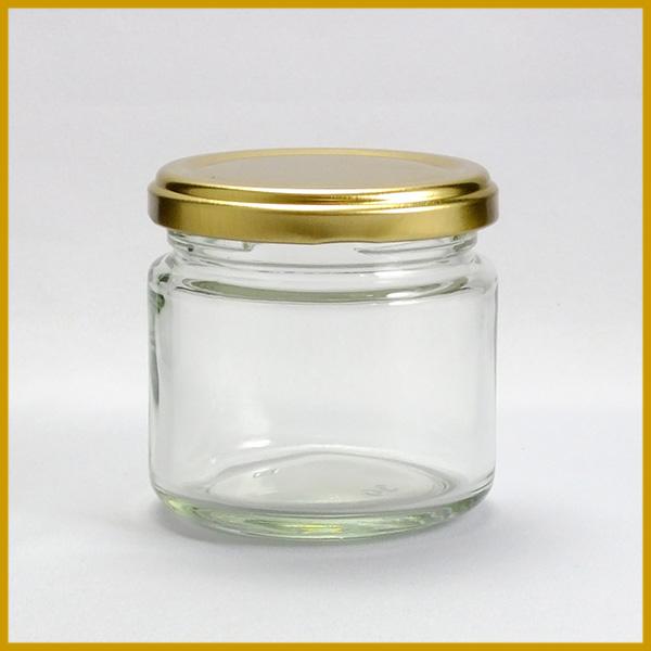 ガラス瓶 蓋付 ジャム瓶 ガラス保存容器 SH-150ST 150ml-90本セット- jam jar