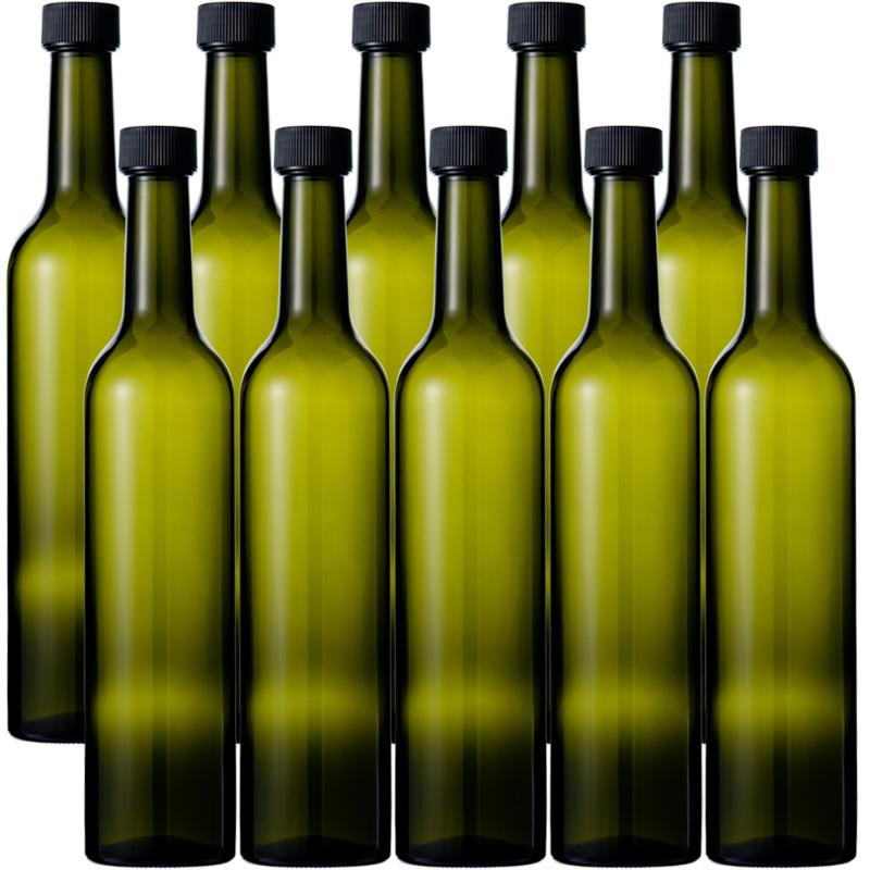 Glass bottle wine bottle wine bottle slim win 500 DS 500ml -10 book set-