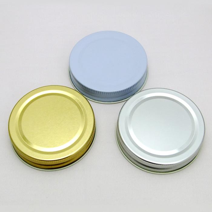 調味料、オイル、ジャムなどのガラス瓶用ふた(キャップ) ガラス保存容器 ガラス瓶用 フタ sc70 jar cap