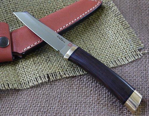 HATTORI ハットリ3717 シースナイフ黒檀 VG10