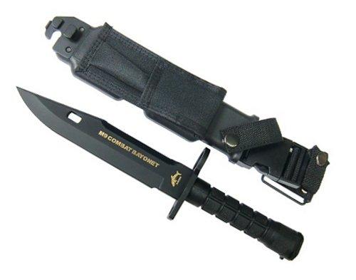 PHROBIS(フロビス)1111CSLB  M9 コンバットバイヨネット ブラック 真鍮ブレード摸造品 刃は付いていません!!