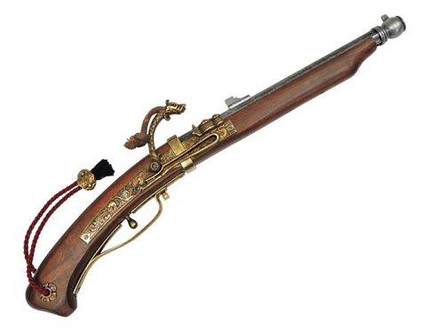 DENIX(デニックス)1273火縄銃 種子島 ポルトガル伝来モデル 模造品ピストル 銃レプリカ