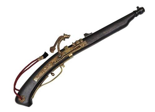 DENIX(デニックス) 1273N火縄銃 種子島 ポルトガル伝来モデル 黒 模造品ピストル 銃レプリカ
