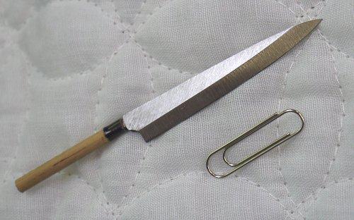 雏形菜刀系列No.56柳树刃菜刀和睦菜刀