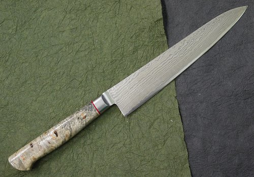 HIRO KNIVES(ヒロナイブズ)カリフォルニアバックアイVG10ダマスカス ペティーナイフ 150mm