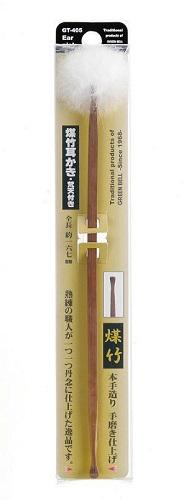 GREEN BELL green Bell GT-405 smoked bamboo earpick Brahma with bonten earpick