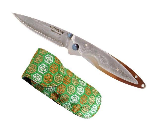 MCUSTA エムカスタMC-0031D SHINRA 森羅KASUMI 霞 かすみダマスカス鋼フォールディングナイフ
