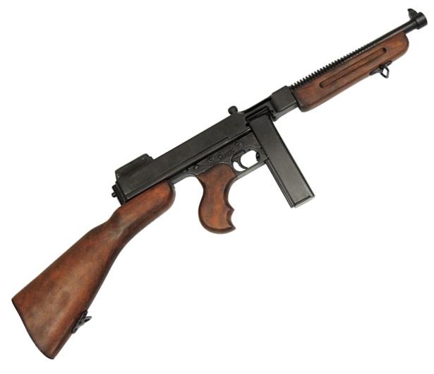 DENIX デニックス1093M1サブマシンガントンプソンモデルレプリカ 銃 拳銃 ライフル銃模造 信憑 新品