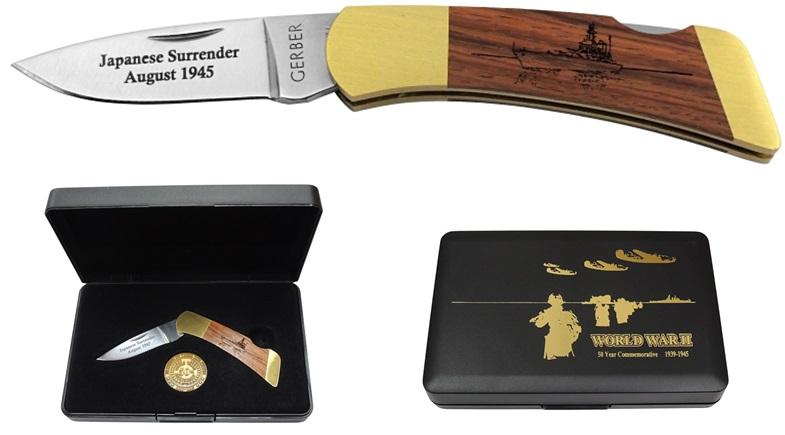 GERBER(ガーバー)G6197 FSI (フォールディング スポーツマン I) 終戦50周年記念ナイフ