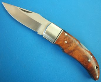 HIRO KNIVES(ヒロナイブズ)HRP-05 片口フォールディングナイフ カリン