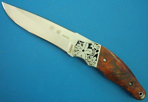 G・サカイ桜 2 カリンコブシースナイフ