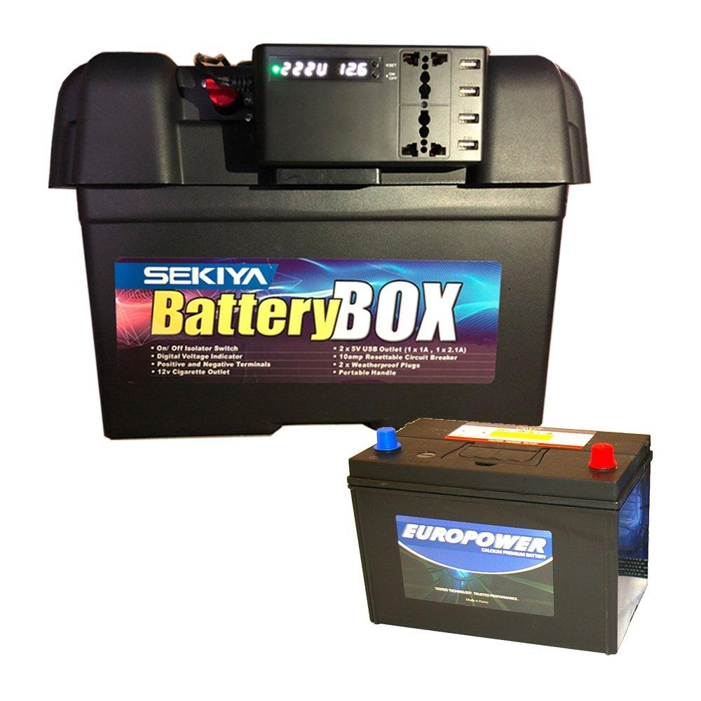 小学生でも組み立てられる簡単配線でポータブル蓄電池に 家庭用ポータブル電源キットバッテリーボックス+ 1200Wh ポータブル蓄電池 +200w インバーター 【オススメ商品】