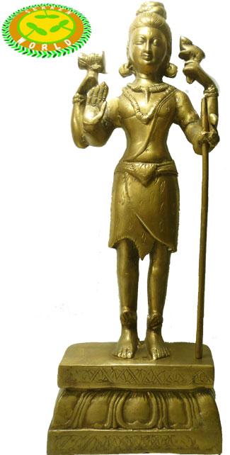 インドの神様 Śiva(シヴァ)の置物