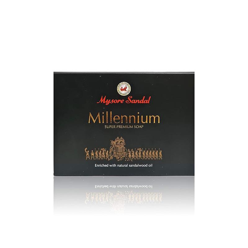 世界最高水準SandalWood OIL配合 お値打ち価格で Super Premium Soap スーパー ミレニアム 低価格 サンダル プレミアムソープ マイソール