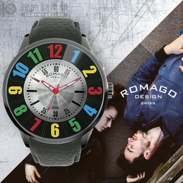 【3500円割引クーポン】ロマゴデザイン ROMAGODESIGN NUMERATION ヌメレーション RM007-0053ST-RD [正規品] メンズ&レディース 腕時計 時計
