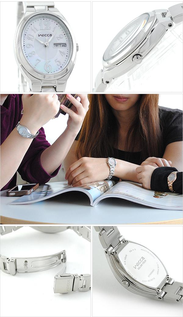 シチズン ウィッカ wicca ソーラー KH3-118-91 [正規品] レディース 腕時計 時計