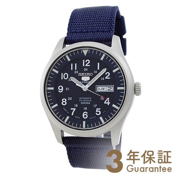 【ポイント最大36倍 3/29 23:59まで】SEIKO5 [海外輸入品] セイコー5 逆輸入モデル 5スポーツ ミリタリー 100m防水 機械式(自動巻き) SNZG11J1 メンズ 腕時計 時計