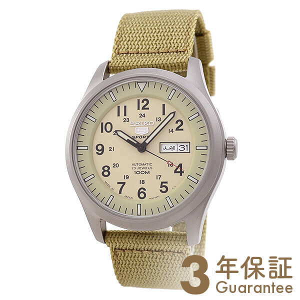 SEIKO5 [海外輸入品] セイコー5 逆輸入モデル 100m防水 機械式(自動巻き) SNZG07J1 メンズ 腕時計 時計