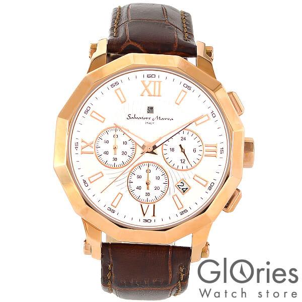 SalvatoreMarra [国内正規品] サルバトーレマーラ 替えベルト付き SM13107-PGWH メンズ 腕時計 時計【あす楽】