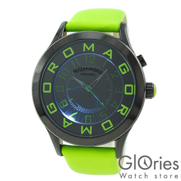 【4000円割引クーポン】ロマゴデザイン ROMAGODESIGN アトラクションシリーズ RM015-0162ST-LUGR [正規品] メンズ&レディース 腕時計 時計