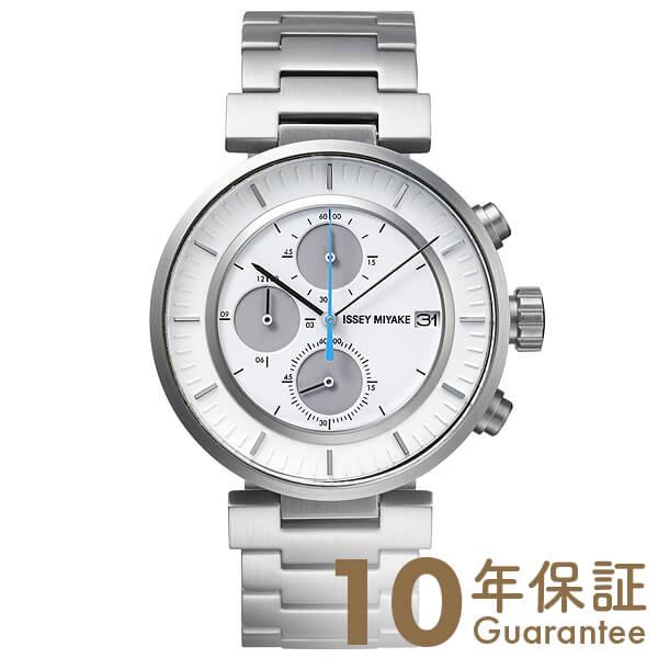 イッセイミヤケ ISSEYMIYAKE Wダブリュクロノグラフ和田智デザイン SILAY007 [正規品] メンズ 腕時計 時計【36回金利0%】