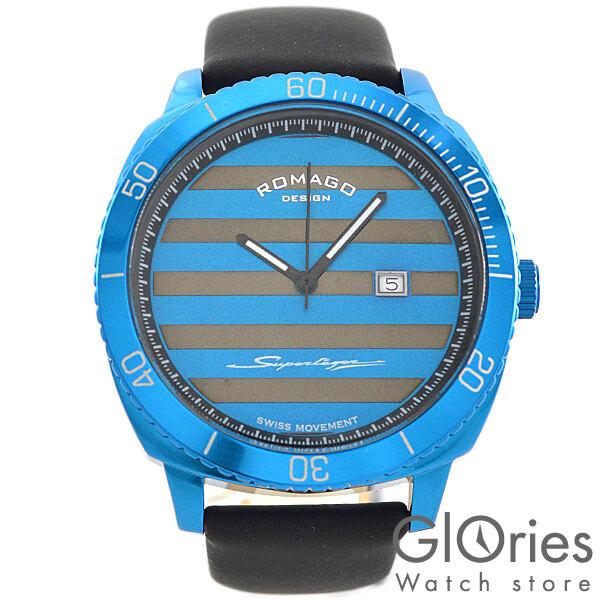 【2500円割引クーポン】ロマゴデザイン ROMAGODESIGN SUPERLEGER スーパーレジャー RM049-0371ST-BU [正規品] メンズ&レディース 腕時計 時計【あす楽】