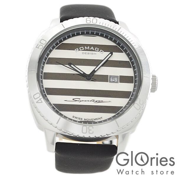 ROMAGODESIGN ロマゴデザイン SUPERLEGER スーパーレジャー RM049-0371ST-SV [正規品] メンズ&レディース 腕時計 時計【あす楽】
