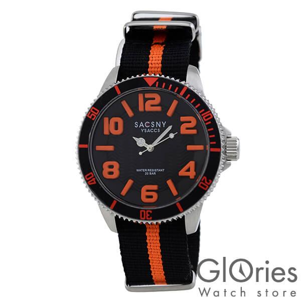 SACCSNYY'SACCS サクスニーイザック SYA-15105-BKOR [正規品] メンズ 腕時計 時計